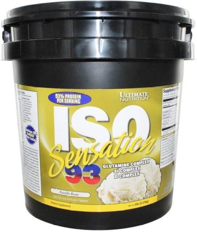 Ultimate Nutrition Iso sensation 93 Whey Protein(2.27 kg, Vanilla Bean)