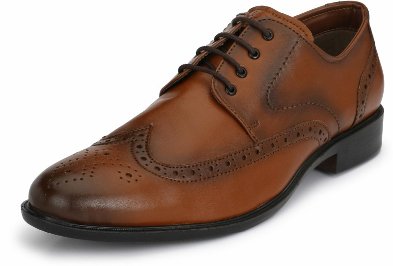 Alberto Torresi Derby For Men(Brown)