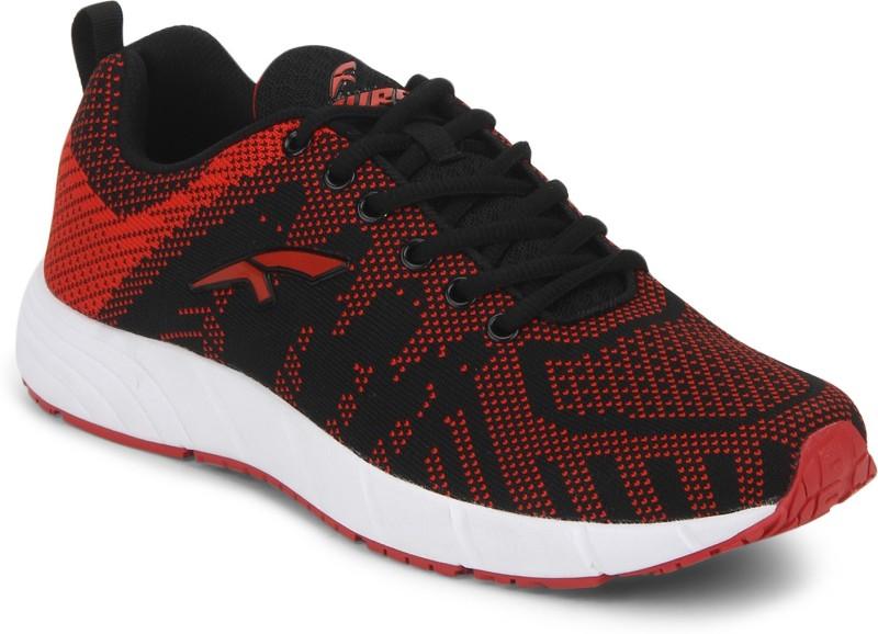 Furo Walking Shoes For Men(Red, Black)