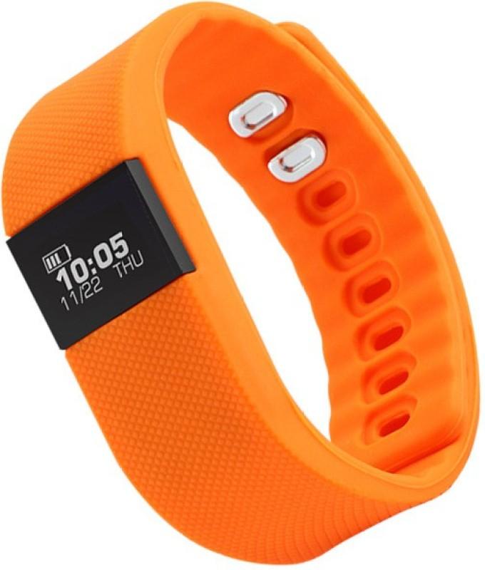 Zebronics FIT100(Orange Strap, Size : Regular)