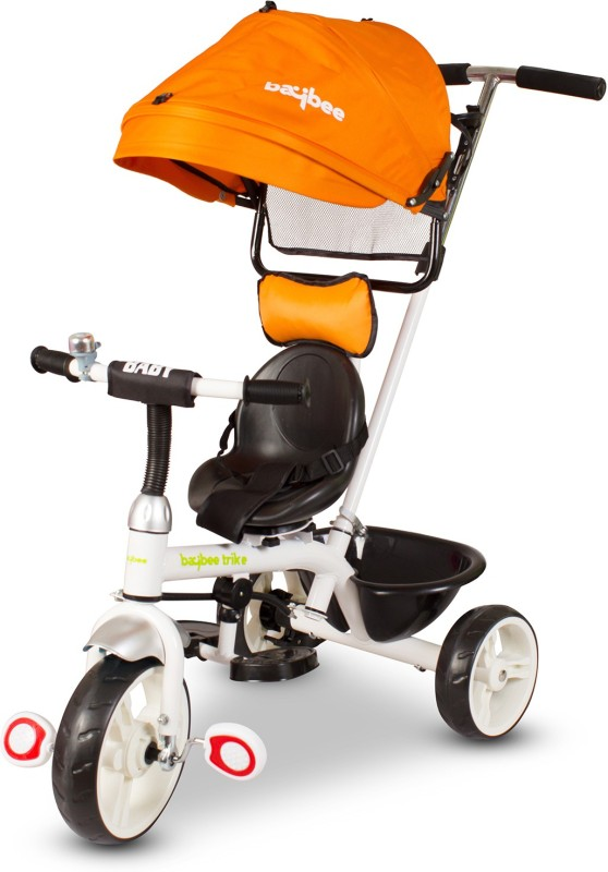 81a2dc296f6 Baybee 3-in 1 Lightweight Convertible Kids tricycle Learn to Ride Trike  with Canopy and Parent Cont
