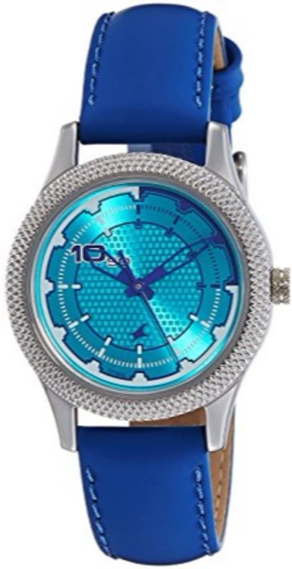 Fastrack blue analog Watch For Women