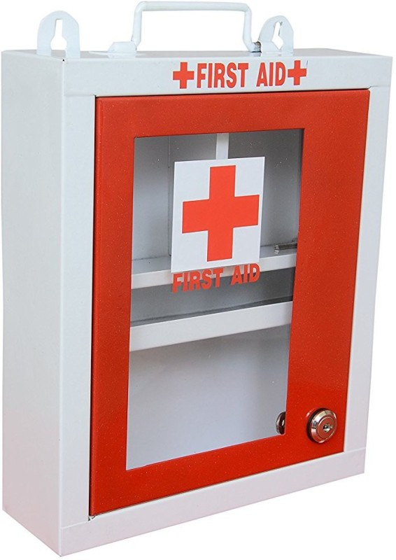 Lepose High grade metal first aid box / emergency medical box First Aid Kit(Home, Sports and Fitness, Workplace, Vehicle)