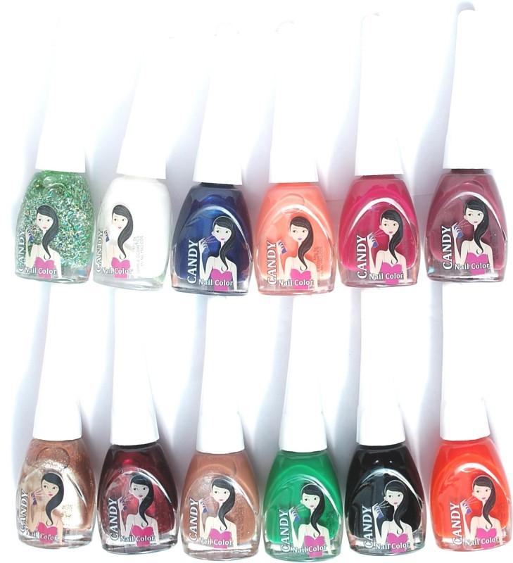 Ramble Nail Polish Candy Set 08 Multicolor(Pack of 12)