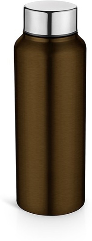 Pexpo Ideale Elegant Chromo Series Fridge,Sports,School Water Bottle 500 ml-BROWN 500 Bottle(Pack of 1, Brown)