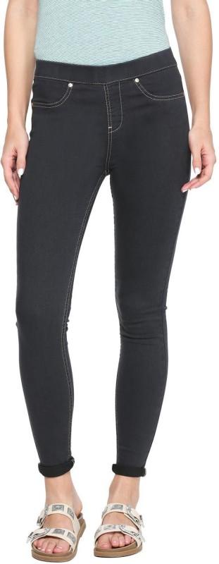 Allen Solly Slim Women Black Jeans