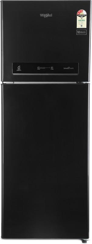 Whirlpool 340 L Frost Free Double Door 3 Star Refrigerator(Caviar Black, IF 355 ELT CAVIAR BLACK(3S))