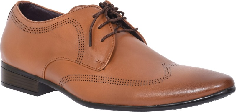 Egoss FO-8058-LEATHER Lace Up For Men(Tan)
