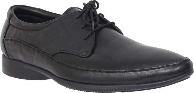 Egoss S-96-BLACK Lace Up For Men(Black)
