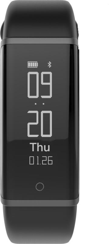 Lenovo HX03 Cardio Smartband(Black Strap, Size : Regular)