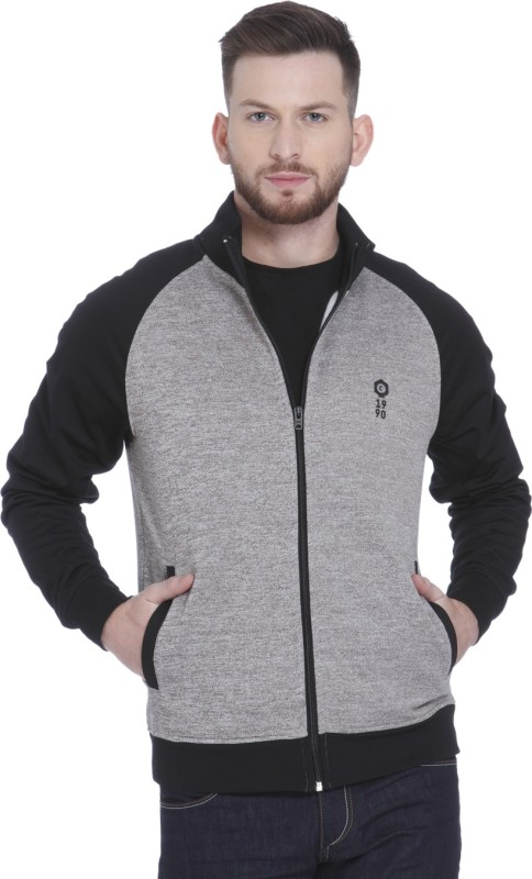 Jack & Jones Full Sleeve Solid Mens Sweatshirt
