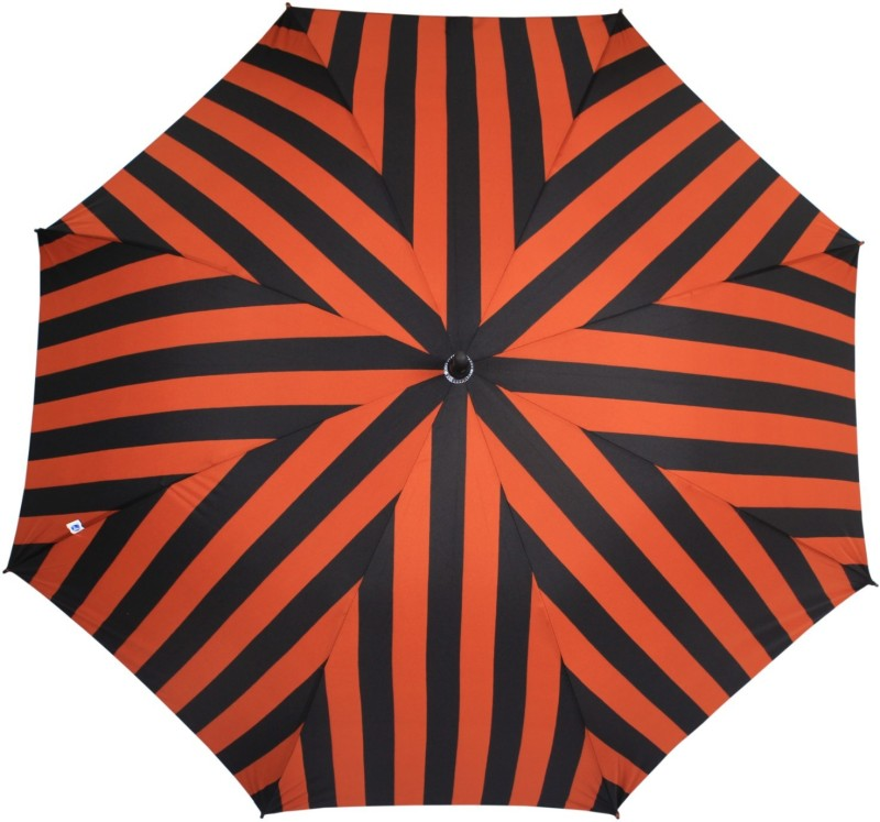 Johns Golf Frp Broad and Stripes-3 Umbrella(Orange)
