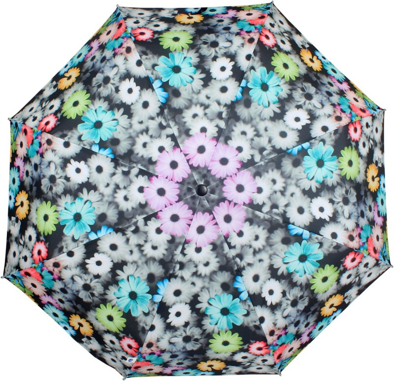 Johns Frp Floral-1 Umbrella(Multicolor)