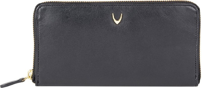 Hidesign Women Casual Grey Genuine Leather Wallet(1 Card Slot)