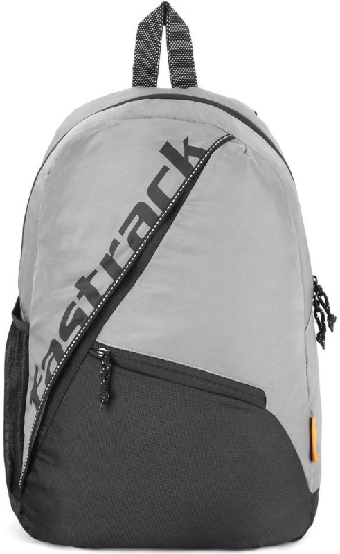 Fastrack AC034NGY02 22 L Backpack(Grey, Black)