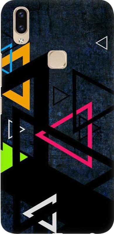 OBOkart Back Cover for Vivo V9(Abstract design, Waterproof)