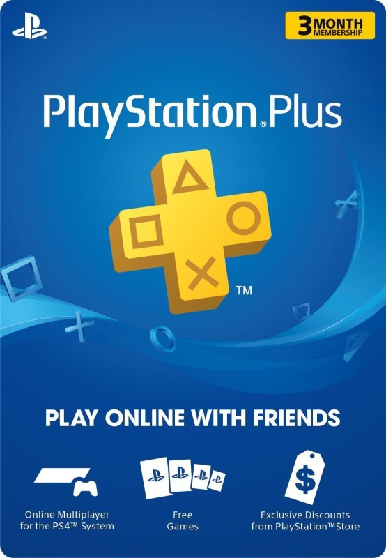 Playstation Plus 3 Months SEA Subscription Service Exclusive Edition with Expansion Pack Only(Code in the Box - for PS4)