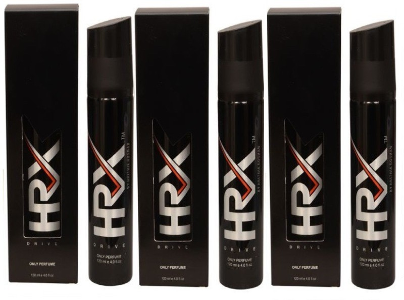 HRX DRIVE TRIO DEODORANT Body Spray - For Men & Women(120 ml, Pack of 3)