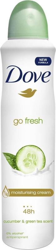 Dove GO FRESH GREEN Body Spray - For Men & Women(150 ml)