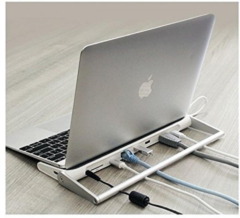 Astrum DA710 USB-C to All in One Dock , USB-C - Hdmi, 3 x USB3.0, RJ45 Gigabit Lan, SD Card, USB-C, Sup Mac / Chrome / Win, Grey Dock(Grey)