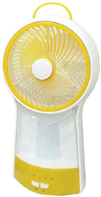 Mezire Emergency Fan Recahrgeable Spacelite SL-2807 B 11 High Speed Table fan with 20W Emergency Light Tube 3 Blade Table Fan(Orange) 3 Blade Table Fan(Multicolor)