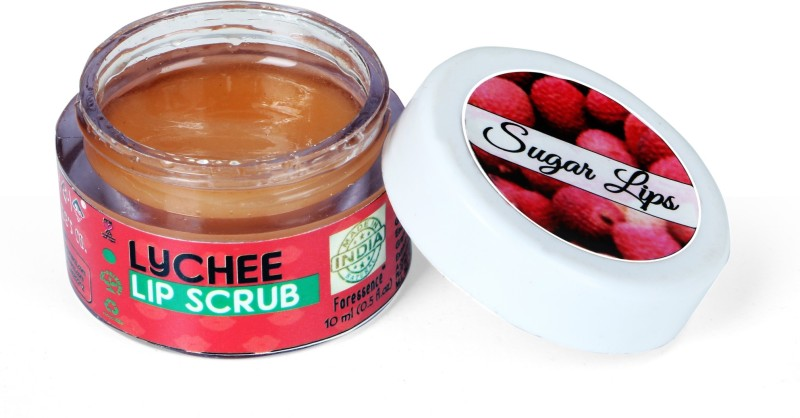 The Natures Co LYCHEE LIP SCRUB Lychee(Pack of: 1, 10 g)