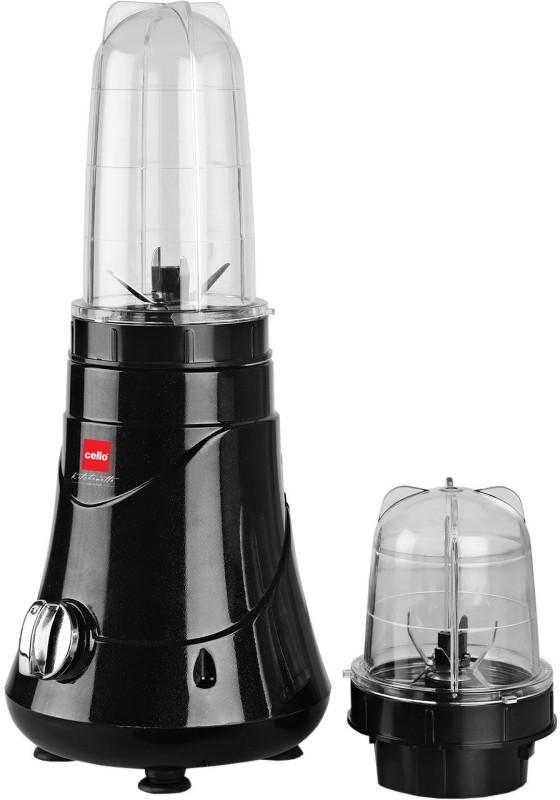 Cello Blend N Grind NutriFit 400 W Juicer(Black, 2 Jars)