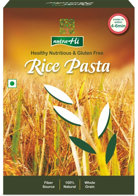 NutraHi Rice Gluten free Pasta 250g By NutrHi Fusilli Pasta(250 g)