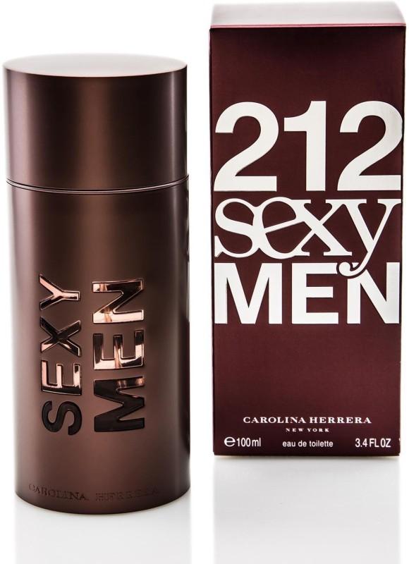 212 SEXY MEN DARK RED Eau de Toilette - 100 ml(For Men & Women)