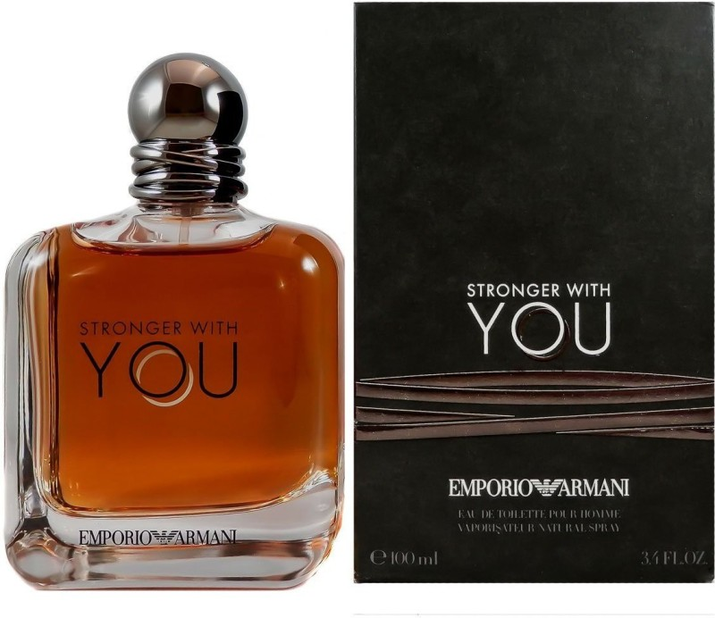 Armani Stronger With You Eau de Toilette - 100 ml(For Men)