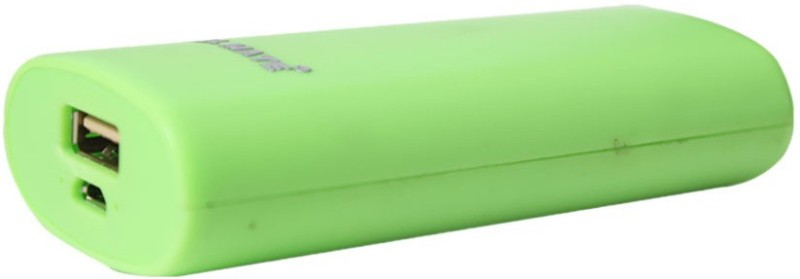 Callmate 5200 Power Bank (Round, Candy - Green)(Green, Lithium-ion)