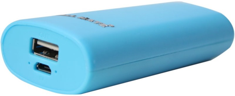 Callmate 5200 Power Bank (Round, Candy - Blue)(Blue, Lithium-ion)