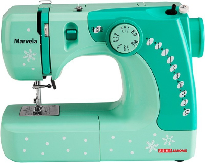 Usha MARV Electric Sewing Machine( Built-in Stitches 14)