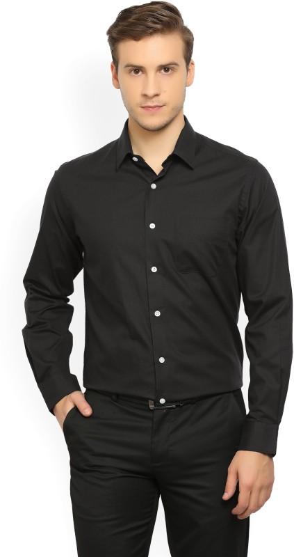 Peter England Mens Solid Formal Spread Shirt