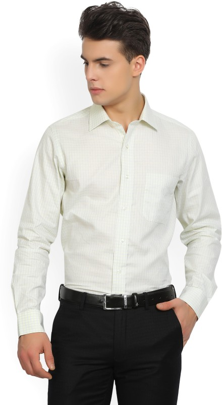 Arrow Mens Checkered Formal Spread Shirt