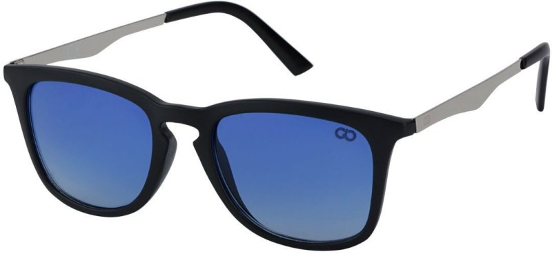 Gio Collection Over-sized Sunglasses(Blue) image