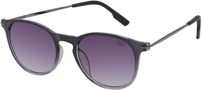 Gio Collection Over-sized Sunglasses(Violet) image