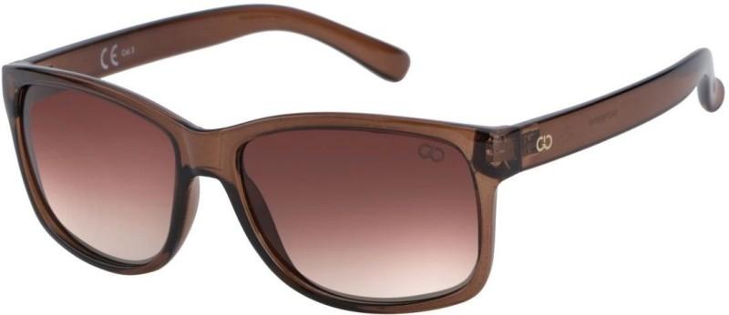 Gio Collection Wayfarer Sunglasses(Brown) image