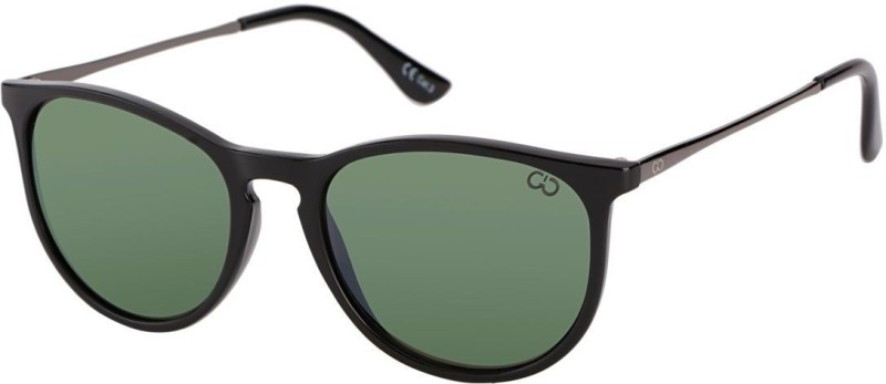 Gio Collection Over-sized Sunglasses(Green) image