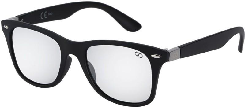 Gio Collection Wayfarer Sunglasses(Clear) image