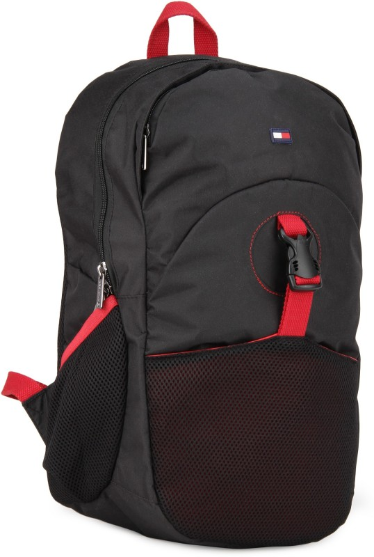 Tommy Hilfiger 4 L Backpack(Black)