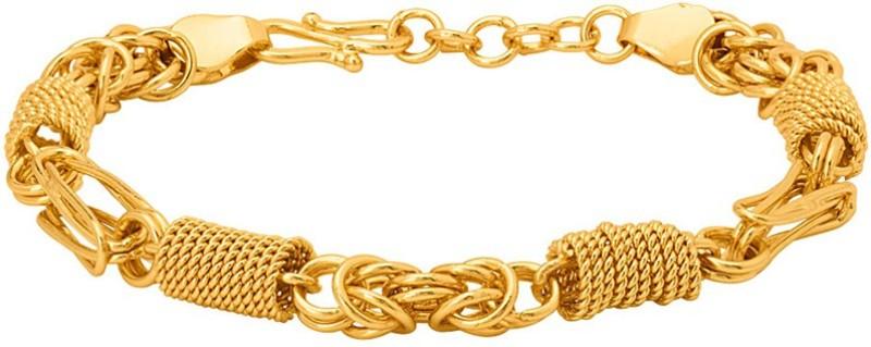 Voylla Brass Gold-plated Bracelet