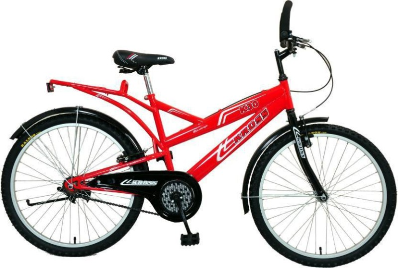 Kross K30 Bike For Adults Red 26 T Single Speed Mountain Cycle(Red)