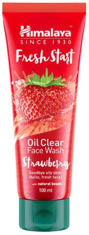 Himalaya Fresh Start Oil Clear Strawberry Face Wash(100 ml)