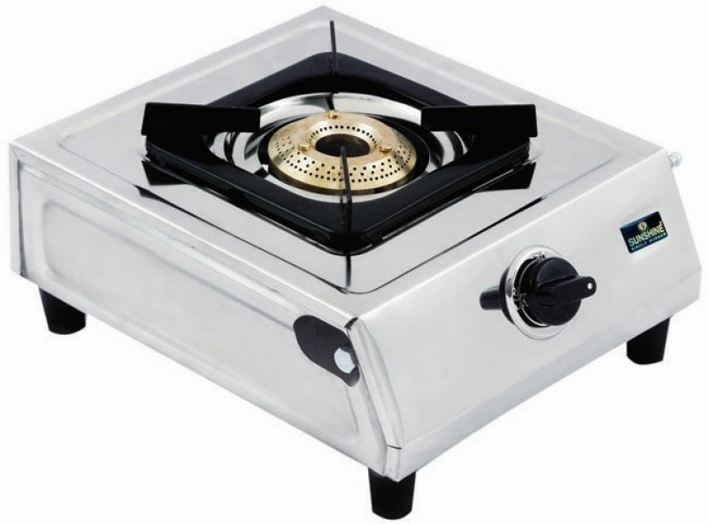 sunshine Singal Burner Stainless Steel Manual Gas Stove(1 Burners)