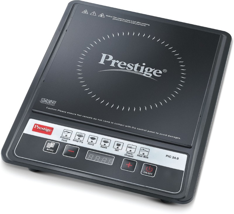 prestige PIC 24 Induction Cooktop(Black, Push Button)