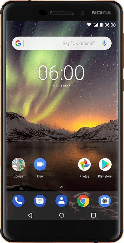 Nokia 6.1 (Black, Copper, 32 GB)(3 GB RAM)