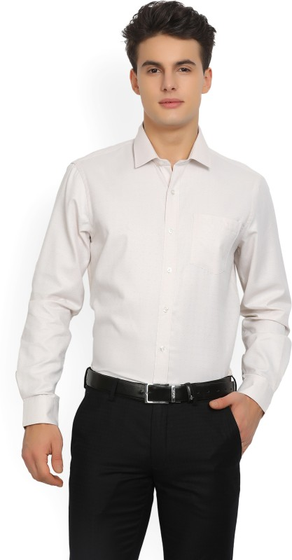 Arrow Mens Self Design Formal Spread Shirt