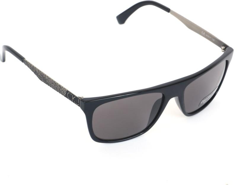 Calvin Klein Jeans Retro Square Sunglasses(Grey)