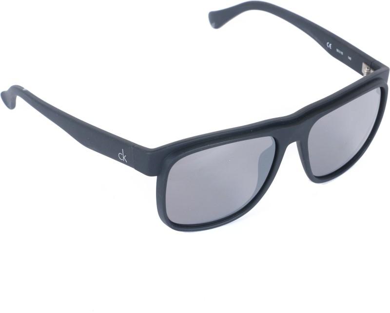 Calvin Klein Wayfarer Sunglasses(Grey)
